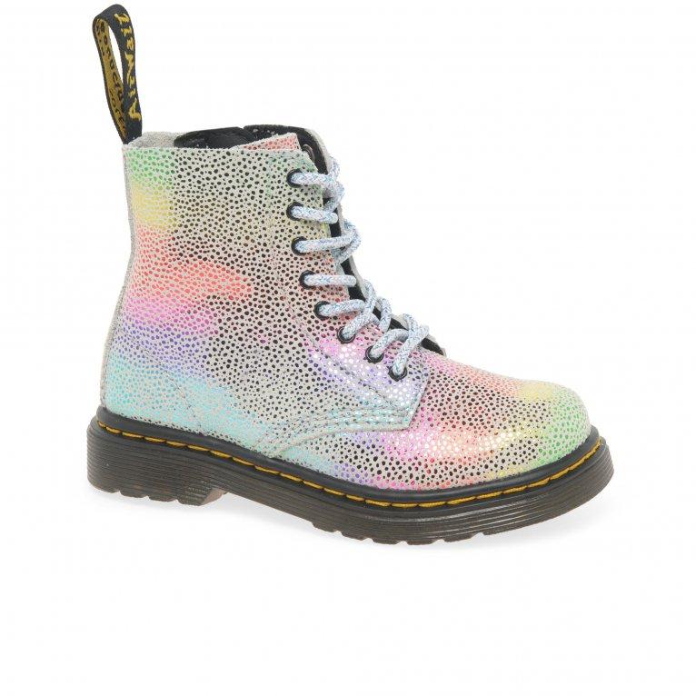 Dr. Martens 1460 Rainbow Kidray Girls Toddler Boots