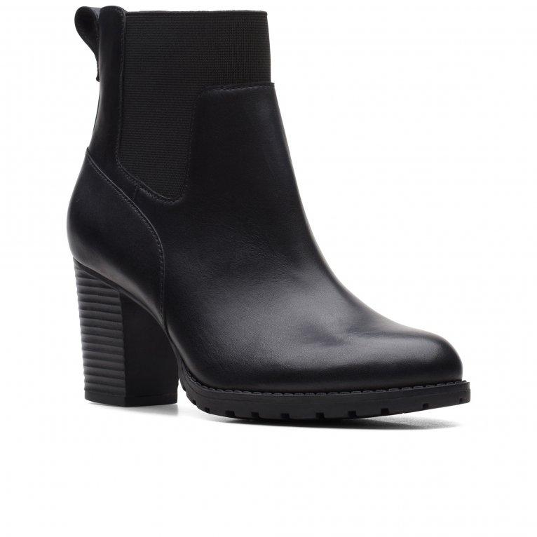 Clarks Verona Ease Womens Heeled Chelsea Boots