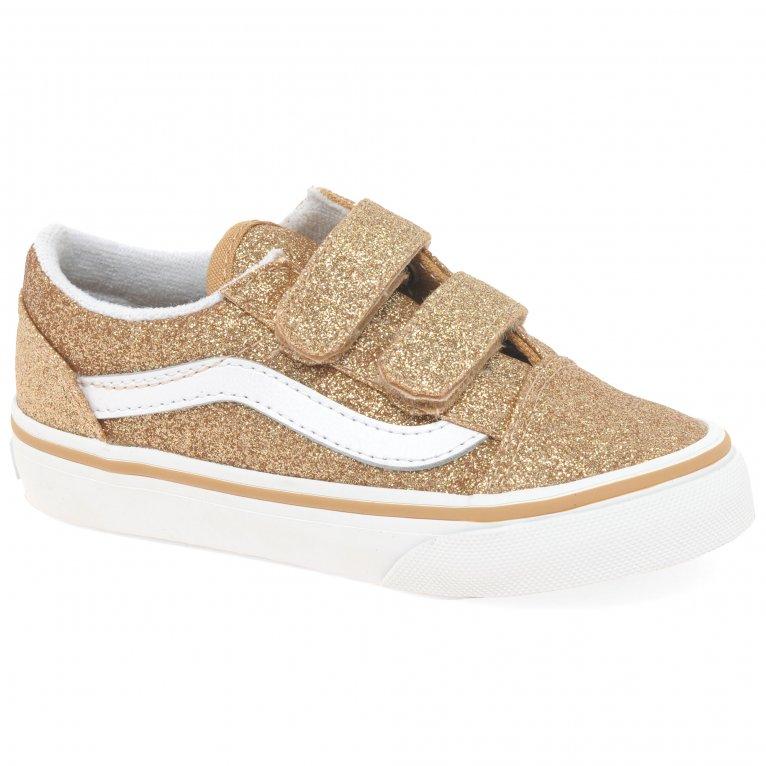Vans Old Skool V Girls Toddler Shoes
