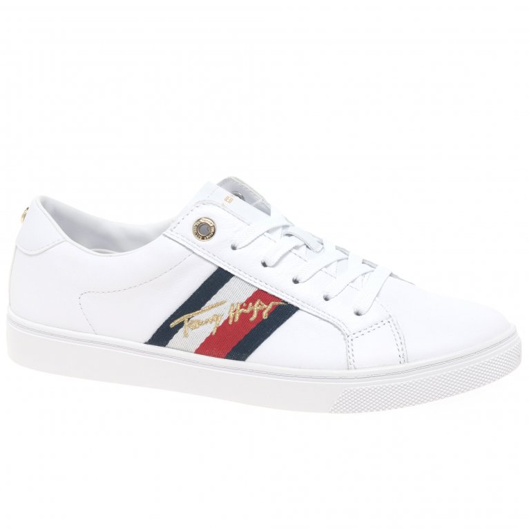 Tommy Hilfiger Signature Cupsole Womens Trainers