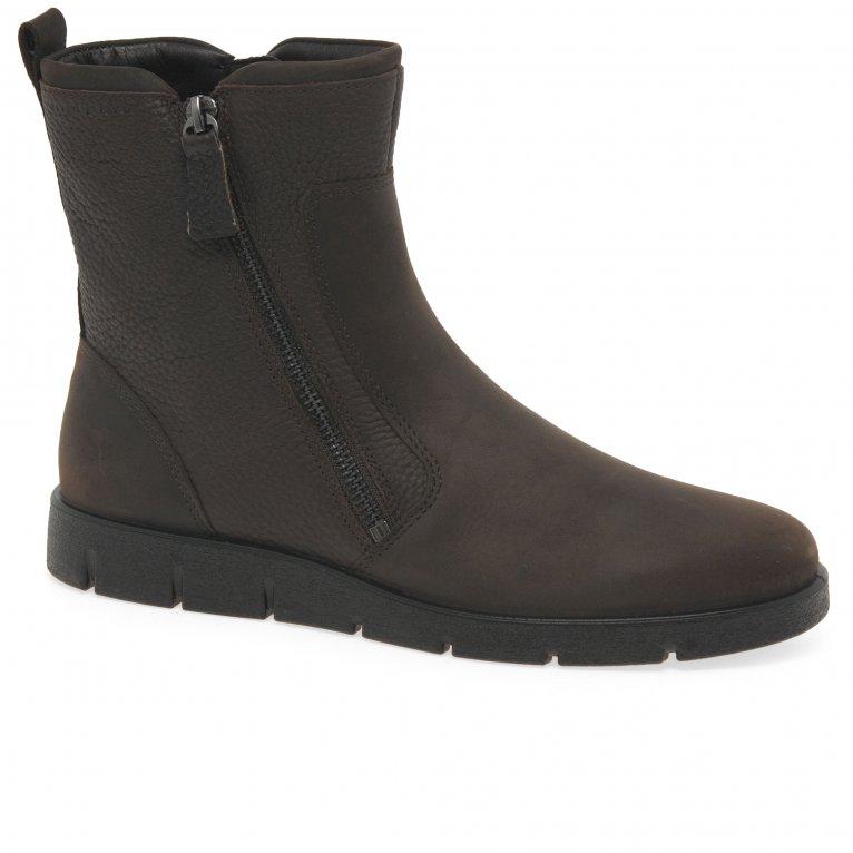 Ecco Bella Zip Womens Waterproof Ankle Boots