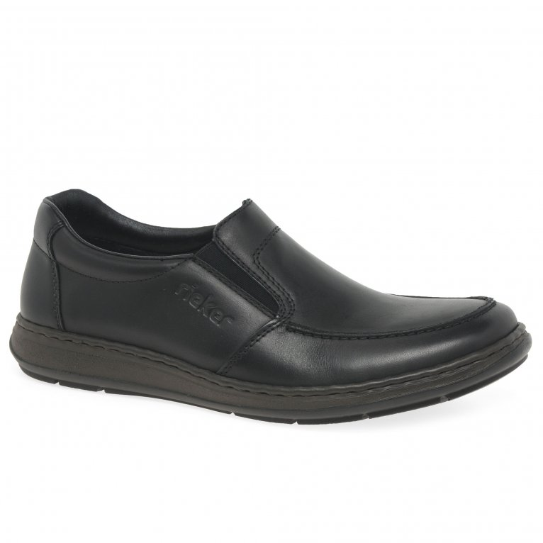 Rieker Fulham Mens Casual Leather Slip On Shoes