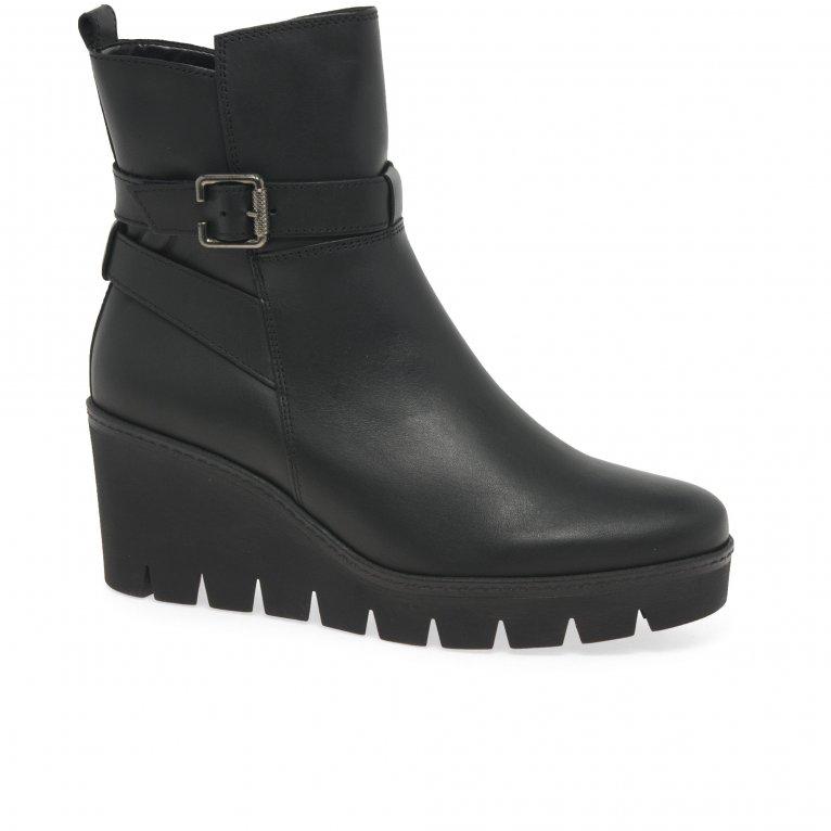 Gabor Umea Womens Wedge Heel Ankle Boots