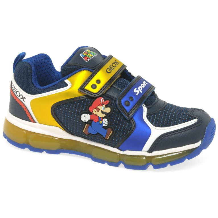 Geox Junior Android Boys Trainers