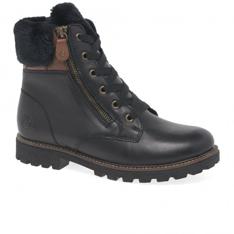 Remonte Cobble Womens Ankle Boots