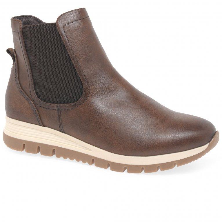 Soft Line (Jana) Nuthatch Womens Casual Chelsea Boots