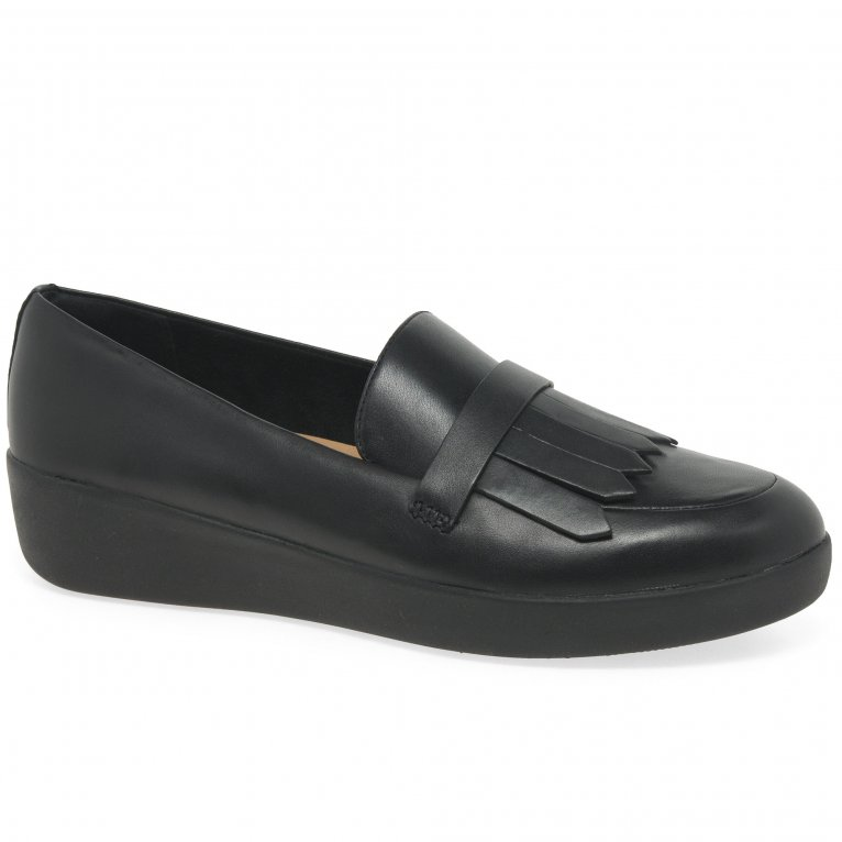 FitFlop™ Superskate Fringe Womens Loafers