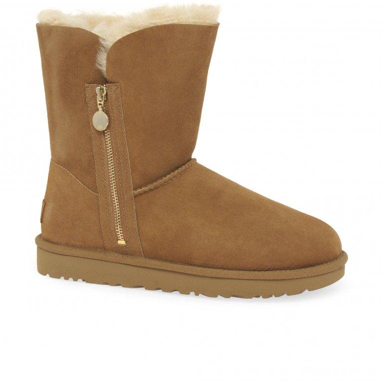 UGG Bailey Zip Short Womens Boots