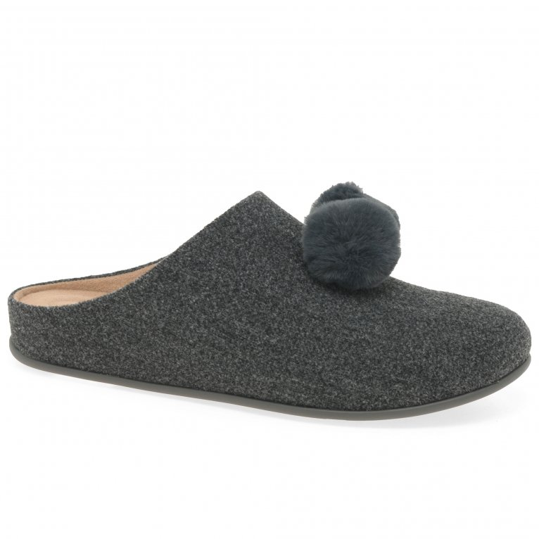 FitFlop™ Chrissie Pom Pom Womens Slippers