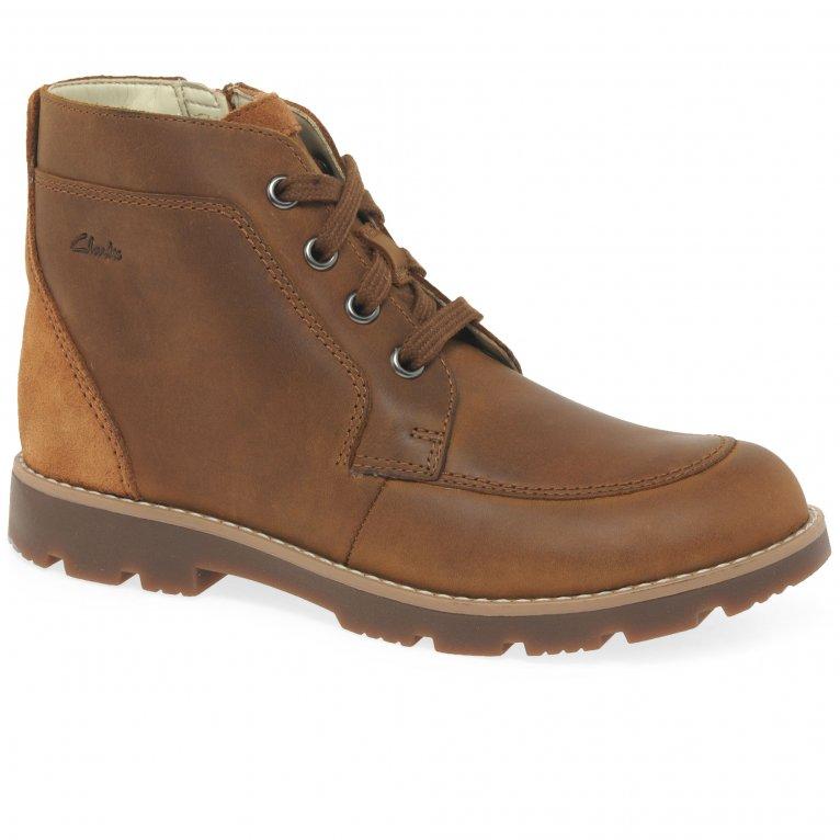 Clarks Heath Lace K Boys Boots