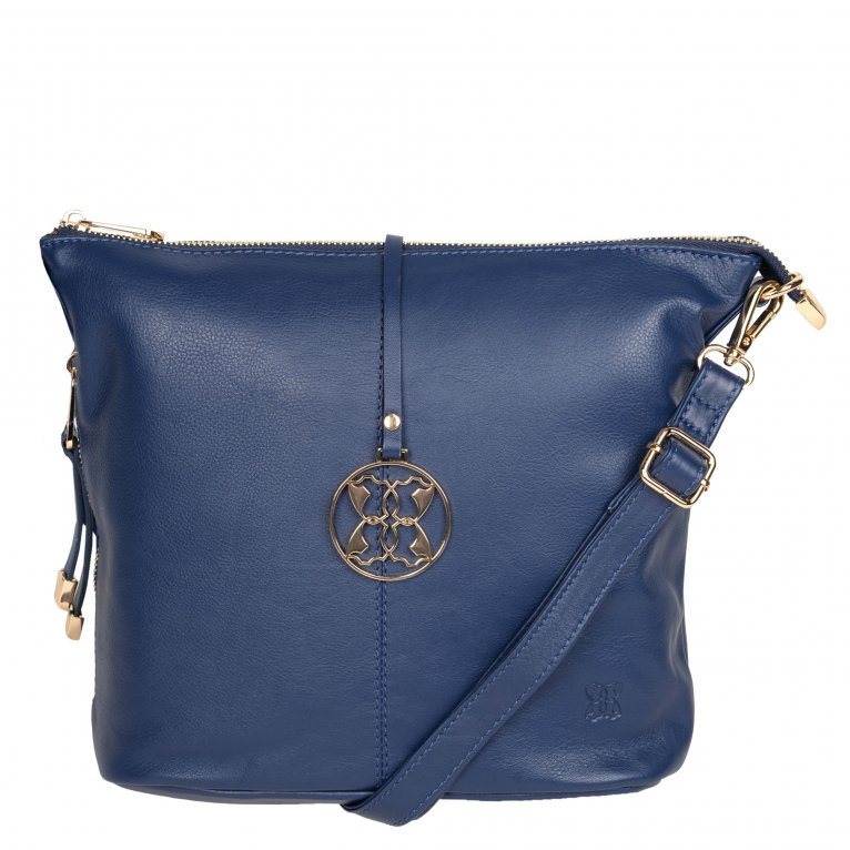 Lakeland Leather Cartmel Womens Crossbody Handbag