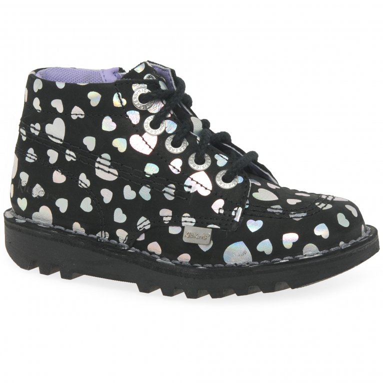 Kickers Kick Hi Girls Infant Boots