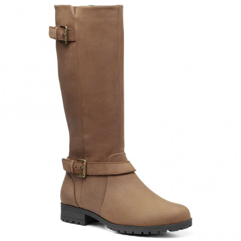 Hotter Belgravia Womens Wide Fit Knee High Boots