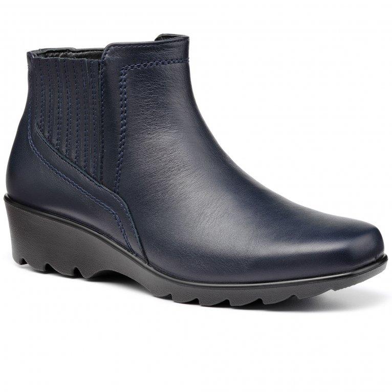 Hotter Eltham II Womens Wedge Boots