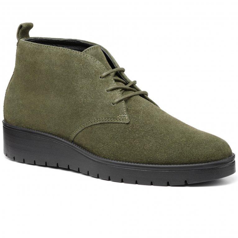 Hotter Enhance Womens Desert Boots