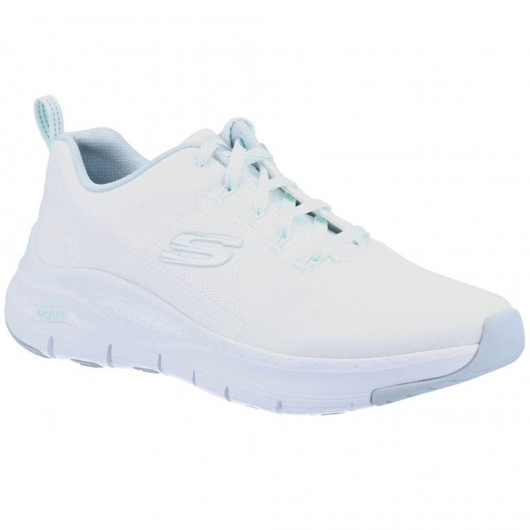Skechers Arch Fit Comfy Wave Womens Sports Shoes