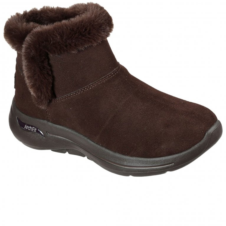 Skechers Go Walk Arch Fit Cherish Womens Ankle Boots
