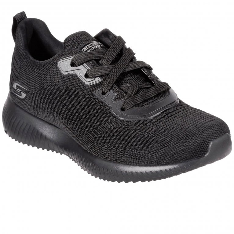 Skechers Bobs Squad Tough Talk Womens Wide Fit Trainers