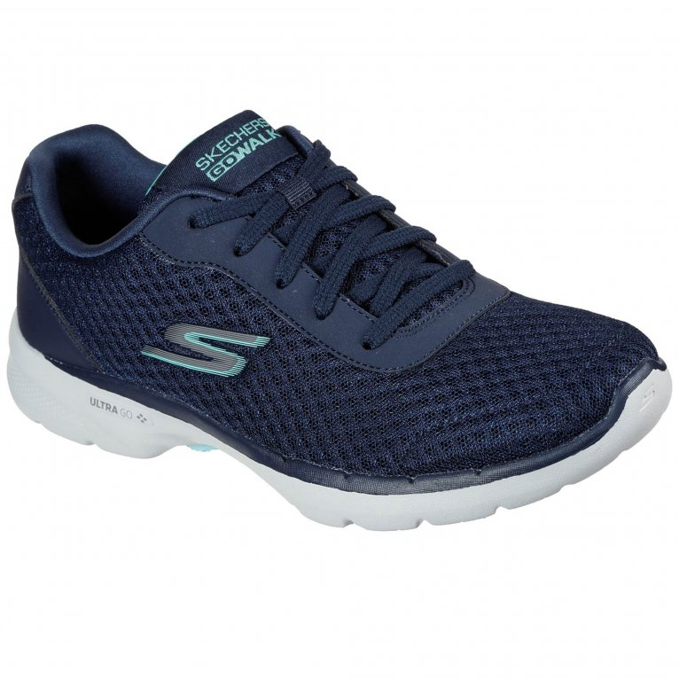 Skechers Go Walk 6 Iconic Vision Womens Trainers