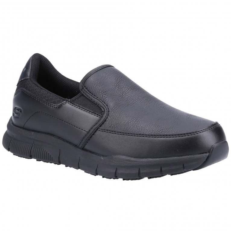 Skechers Work Relaxed Fit Nampa Annod SR Womens Shoes
