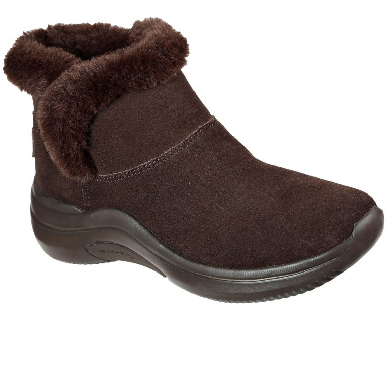 Skechers On The Go Midtown So Plush Womens Ankle Boots