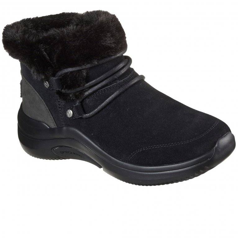 Skechers On The Go Midtown Cozy Vibes Womens Ankle Boots