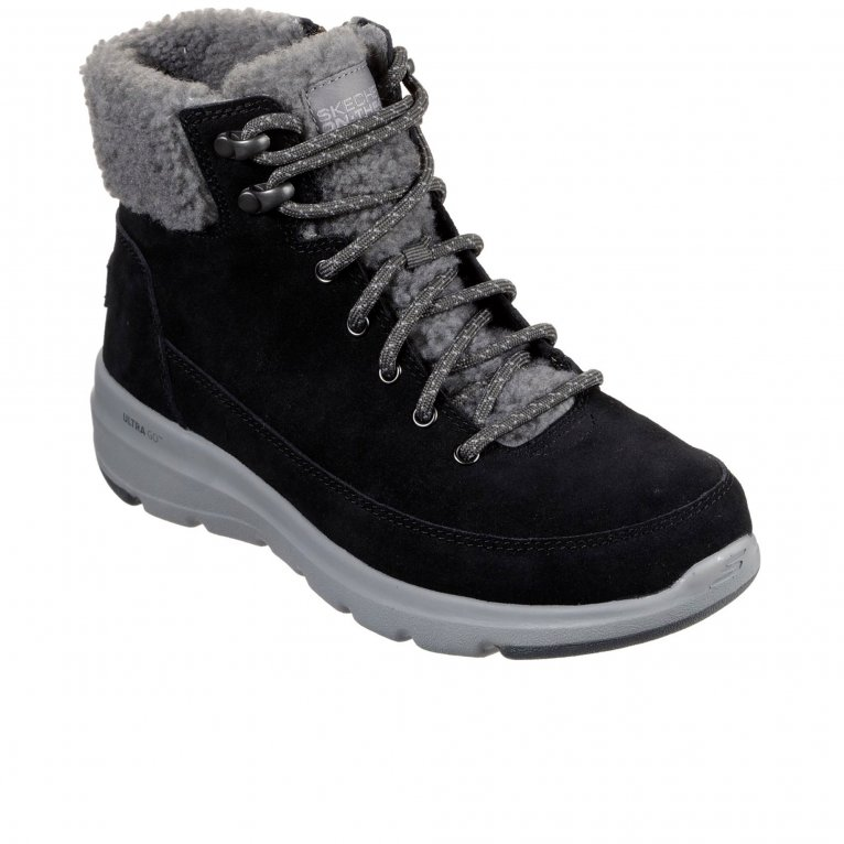 Skechers On The Go Glacial Ultra Woodlands Womens Ankle Boots