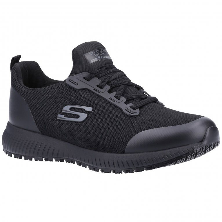 Skechers Work Squad SR Womens Wide Fit Trainers
