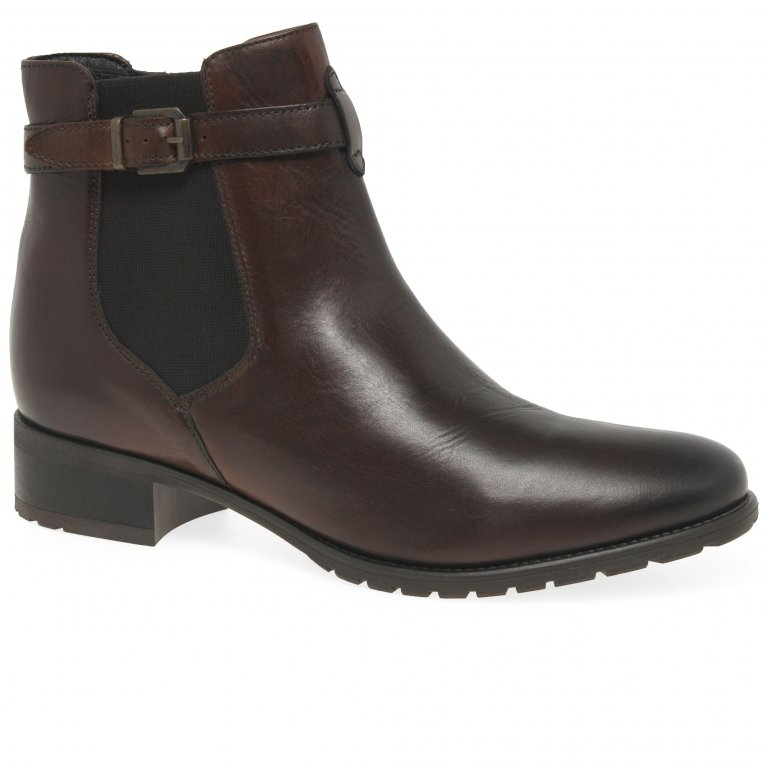 Cara Stirrup Womens Chelsea Boots