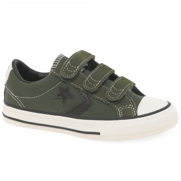 Converse Star Player 3V Boys Junior Canvas Shoes
