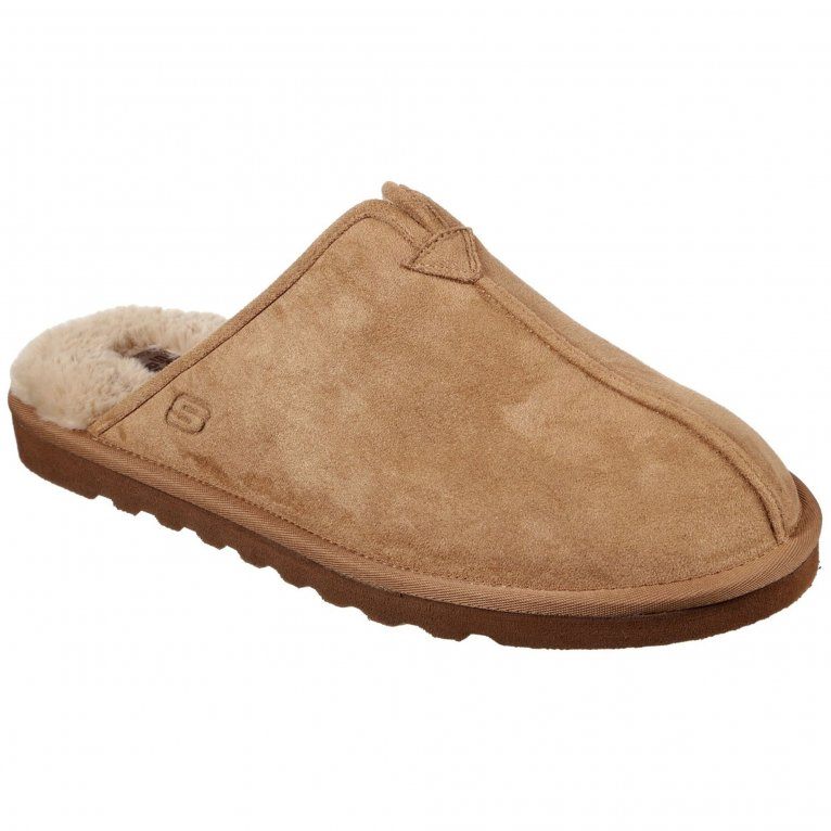 Skechers Relaxed Fit Renten Palco Mens Slippers