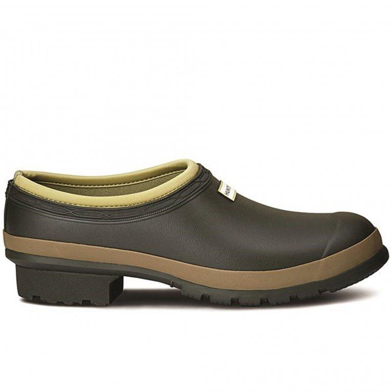 Hunter Gardener Clog Mens Slip On Shoes