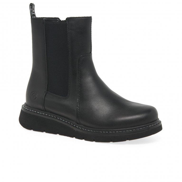 Remonte Brace Womens Chelsea Boots