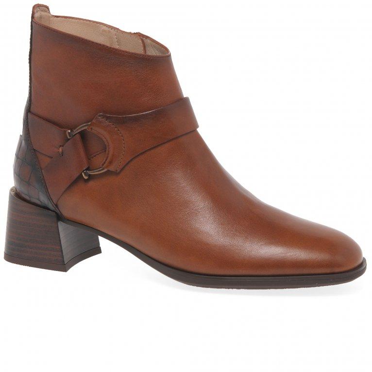 Hispanitas Alexa Buckle Womens Ankle Boots