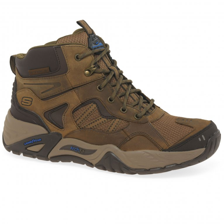 Skechers Arch Fit Recon Percival Mens Boots