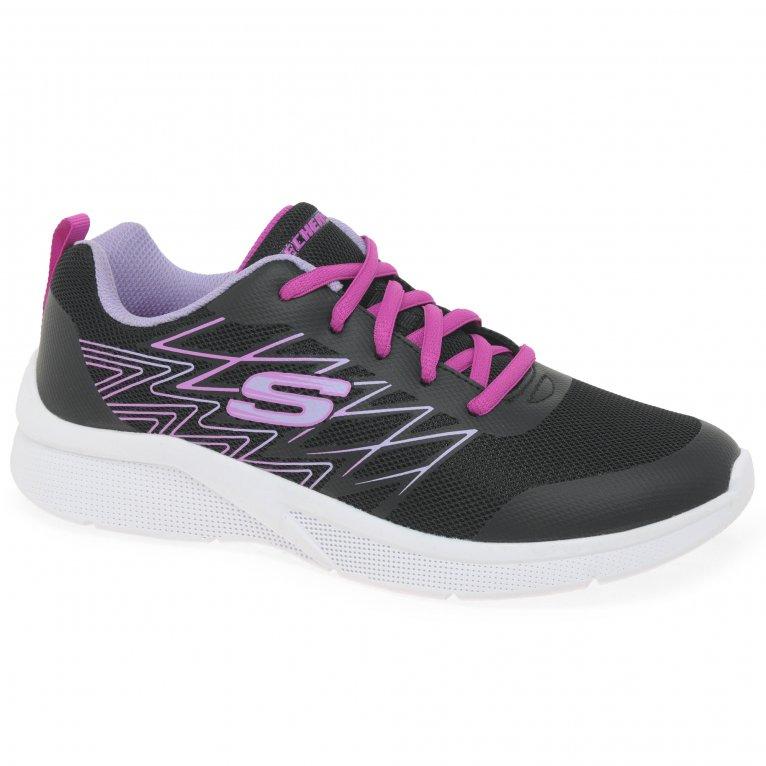 Skechers Microspec Bright Runner Girls Senior Trainers