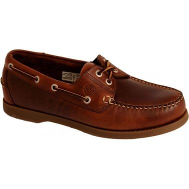 Creek Casual Leather Boat Shoes