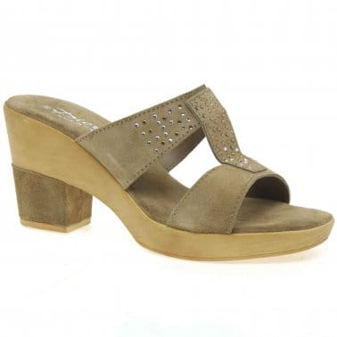 Bubble Womens Casual Mules
