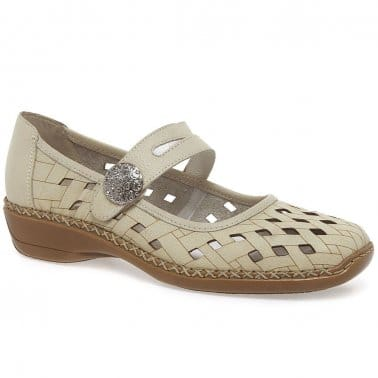 Drayton Button Trim Mary Jane Shoes