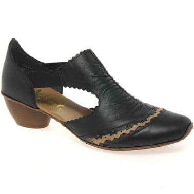 Martha Rouched Trim Dress Shoes