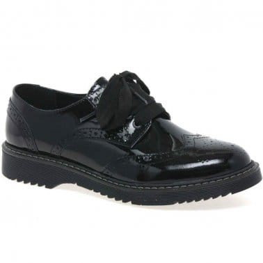 Impulsive Girls Lace Up Leather Brogues