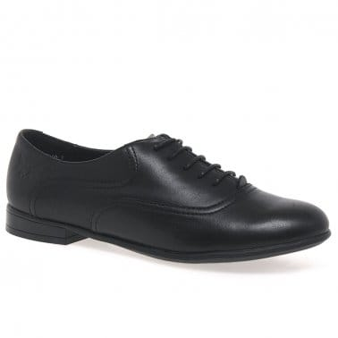 Runway Girls Lace Up School Shoes
