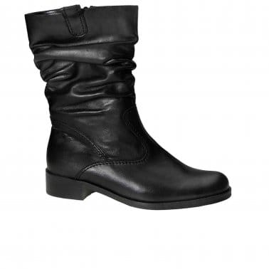 Trafalgar Wide Slouched Calf Boots