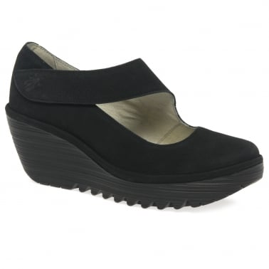 Yasi Womens Casual Wedge Heel Shoes