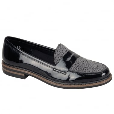Pinot Womens Slip On Casual Loafers
