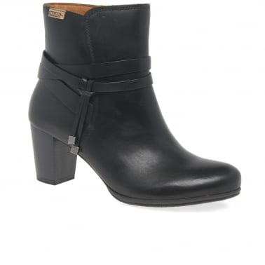 Venue Womens Leather Ankle Boots