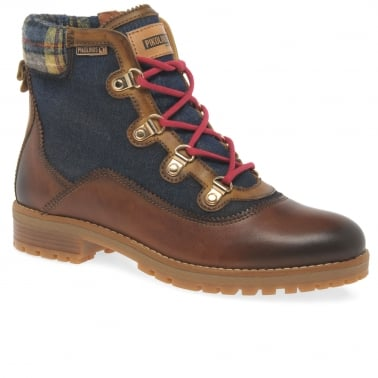 Hiker Womens Casual Ankle Boots
