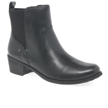 Keller Croco Womens Ankle Boots