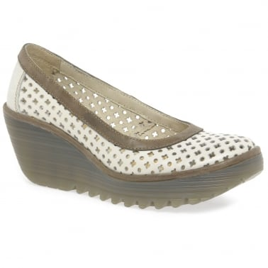 Yika Womens Wedge Heel Casual Shoes