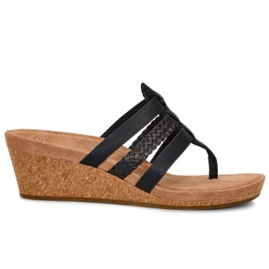 Maddie Womens Casual Toe Post Sandals